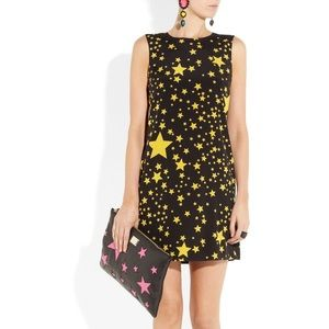 Dolce & Gabbana Silk Star Sheath Dress NEW!